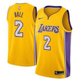 Lonzo Ball Los Angeles Lakers Jersey